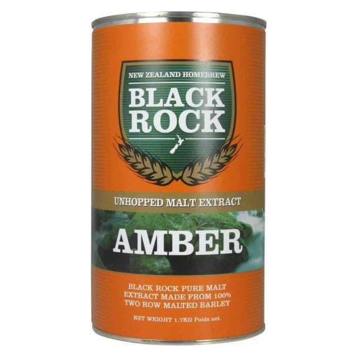 Black Rock Unhopped Amber
