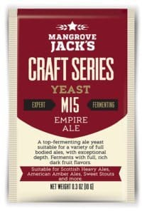 Empire Ale - M15 Yeast - 10g