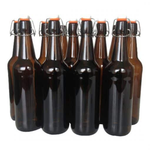 Flip Top Glass Bottles - 12 x 750ml