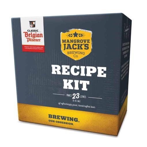 Mangrove Jacks Belgian Pilsener Recipe Pack