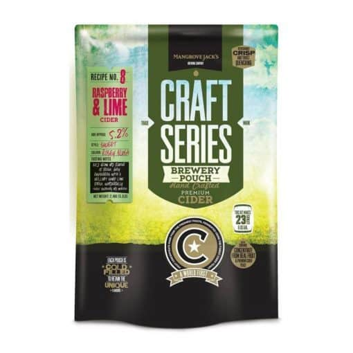 Mangrove Jacks Craft Series Raspberry and Lime Cider