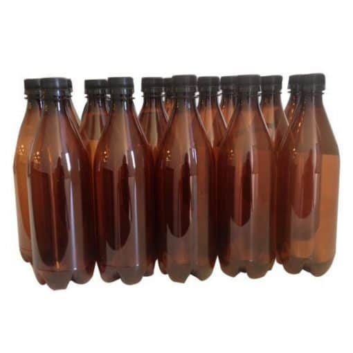 Plastic PET Bottles 750ml - 15 pack