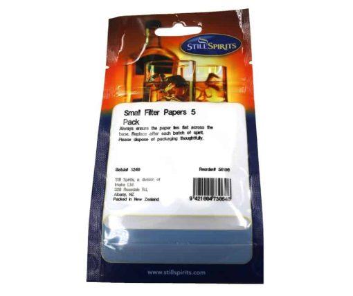 Still Spirits Small Filter Paper. 5 pack