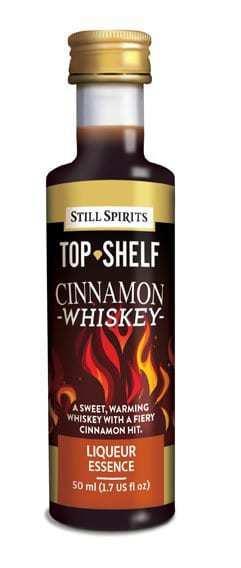 Top Shelf Cinnamon Whiskey Liqueur