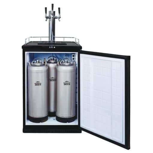 3 Tap Kegerator With Kegs