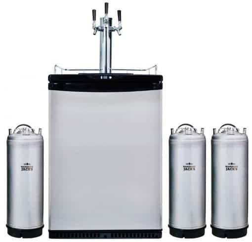 Mangrove Jacks Kegerator - 3 Taps with 3 New Kegs
