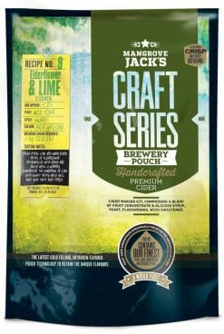 Mangrove Jacks Craft Series Elderflower & Lime Cider