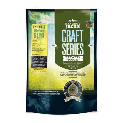 Mangrove Jacks Craft Series Elderflower and Lime Cider