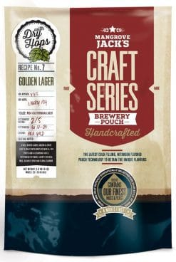 Mangrove Jacks Craft Series Golden Lager + dry hops