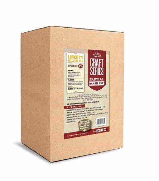 Mangrove Jacks Craft Series Liberty Golden Ale Partial Mash Kit