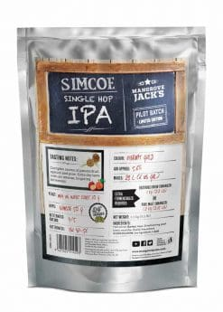 Mangrove Jacks Craft Series Single Hopped IPA Simcoe