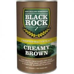 Black Rock Unhopped Creamy Brown