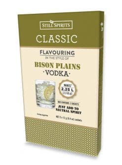 Classic Bison Plains Vodka