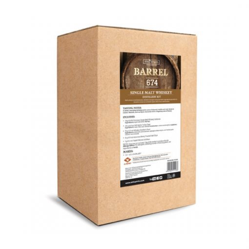 Barrel 674 Whiskey Distillery Kit