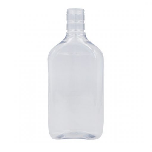 PET Spirit Flask & Cap - 500 ml