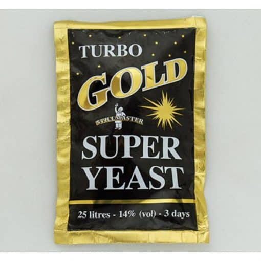 Turbo Gold Yeast