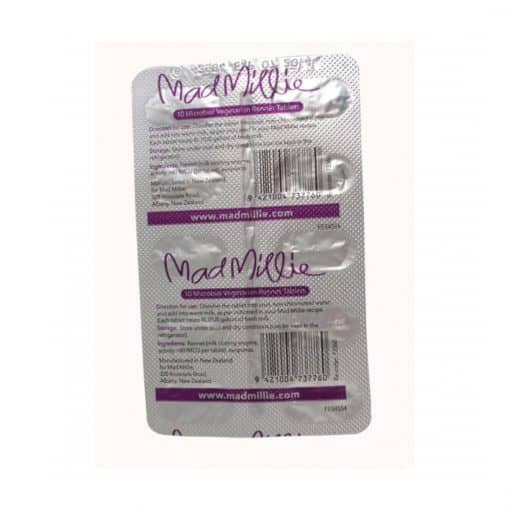 Mad Millie 4L Vegetarian Rennet Tablet Strip x 10