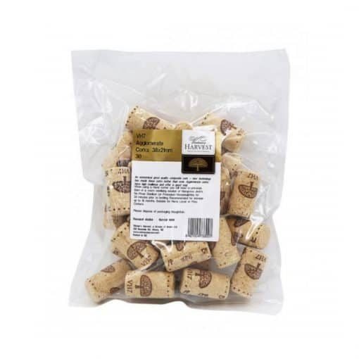 VH7 Agglomerate Corks 38x21mm - 30 x Corks