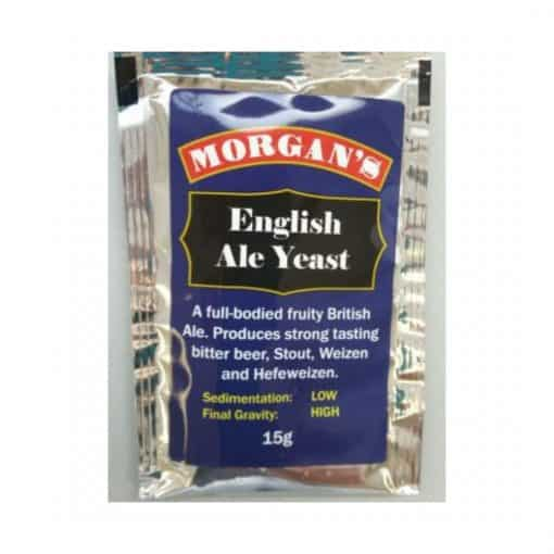 Morgans English Ale Yeast - 15g