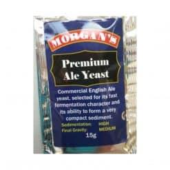 Morgans Premium Ale Yeast - 15g
