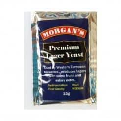 Morgans Premium Lager Yeast - 15g
